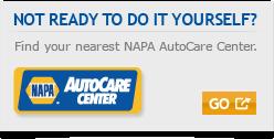NAPA KNOW HOW | Wilsons NAPA Auto Parts
