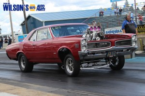 Wilsons NAPA Auto Parts - Wilson Eaton Day at the Drags
