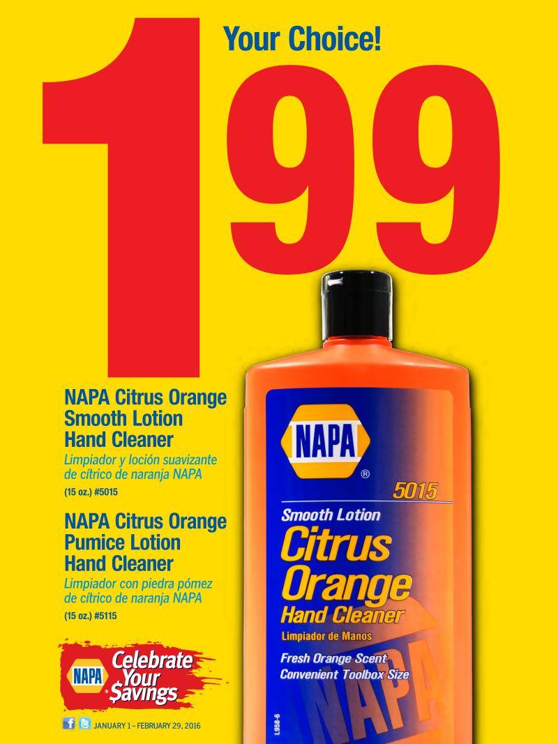 Wilsons Napa Auto Parts - Citrus Special