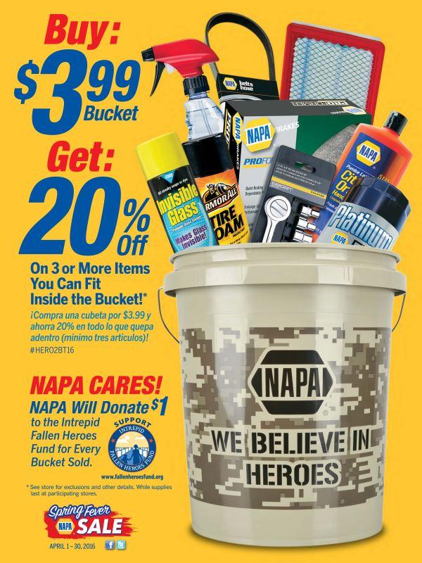 Wilsons Napa Auto Parts - Bucket