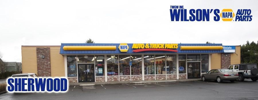 TWGW Inc. - Wilsons NAPA Auto Parts Sherwood