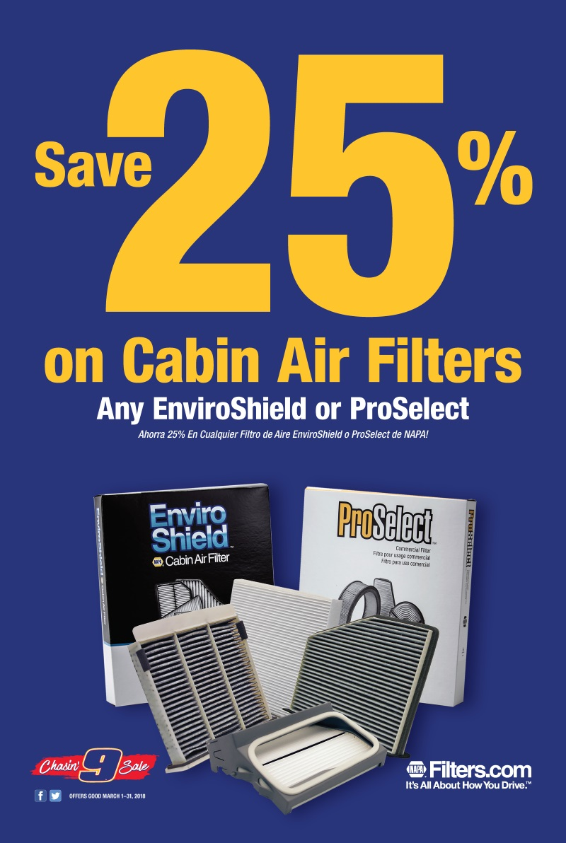 Wilsons Napa Auto Parts - AIR FILTERS