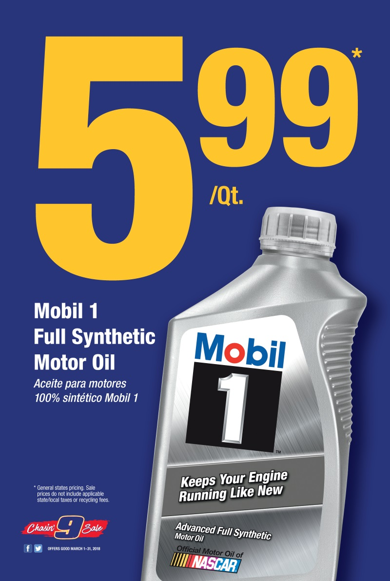 Wilsons Napa Auto Parts - MOBILE OIL