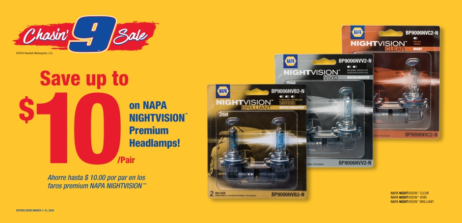 Wilsons NAPA Auto Parts - Headlamps