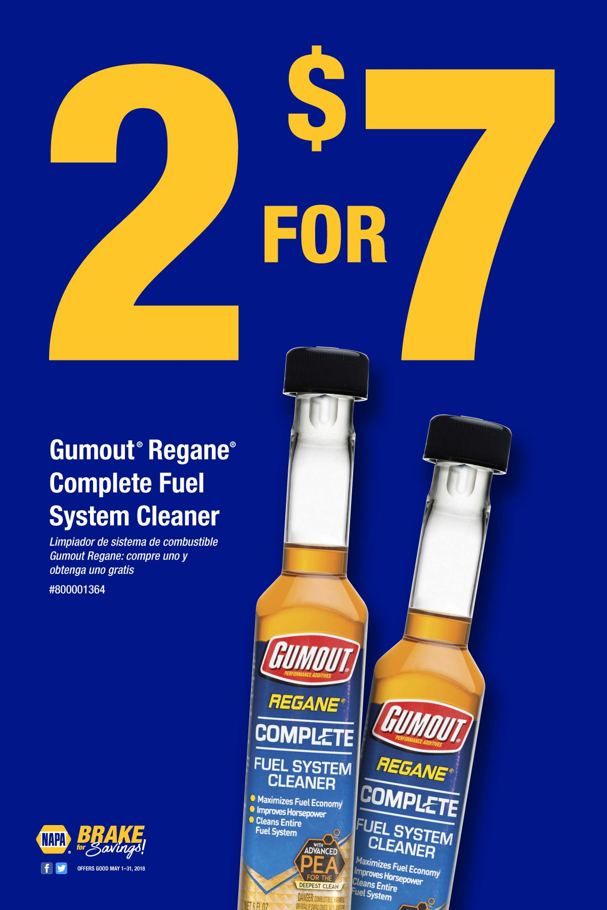 Wilsons Napa Auto Parts - FUEL CLEANER