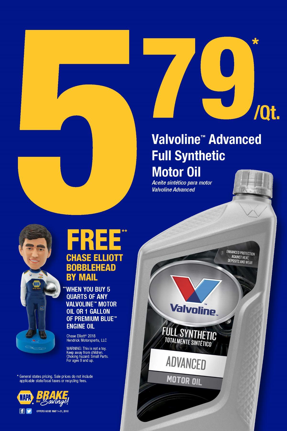 Wilsons Napa Auto Parts - VALVOLINE