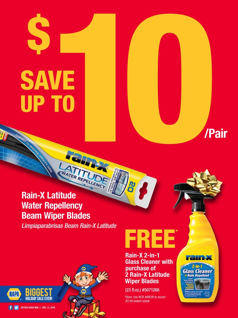 Wilsons Napa Auto Parts - RAINX