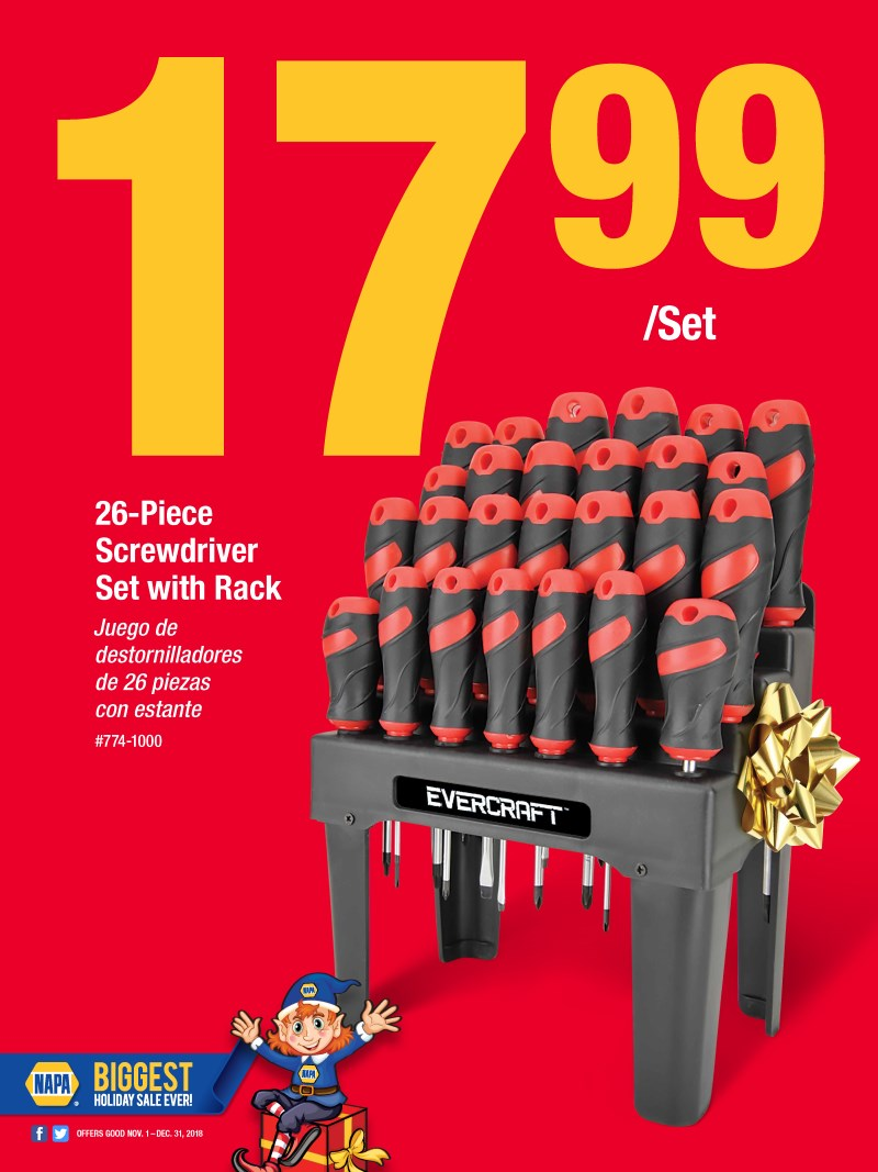 Wilsons Napa Auto Parts - SCREWDRIVERS