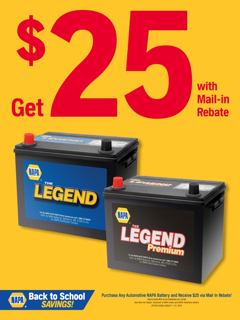 Wilsons Napa Auto Parts - battery