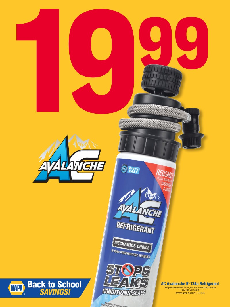 Wilsons Napa Auto Parts - refrigerant