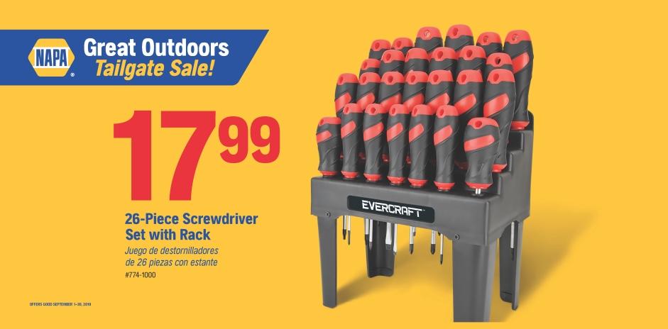 Wilsons NAPA Auto Parts - ScrewDriver