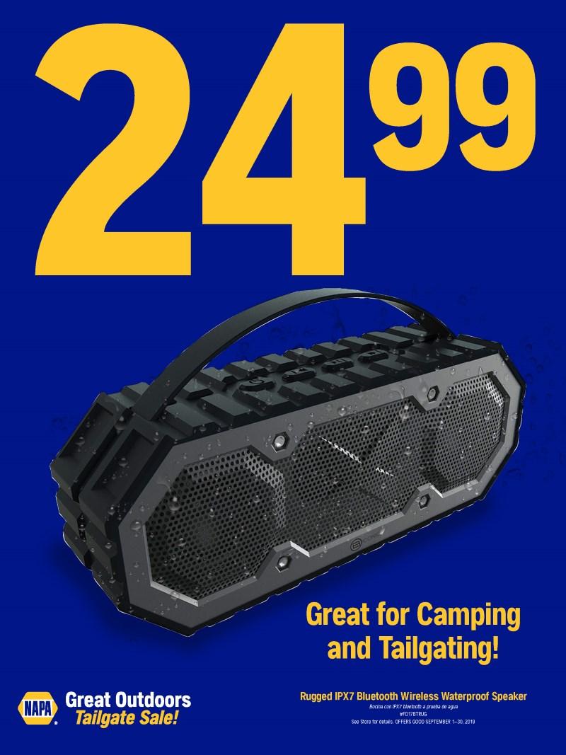 Wilsons Napa Auto Parts - Speaker