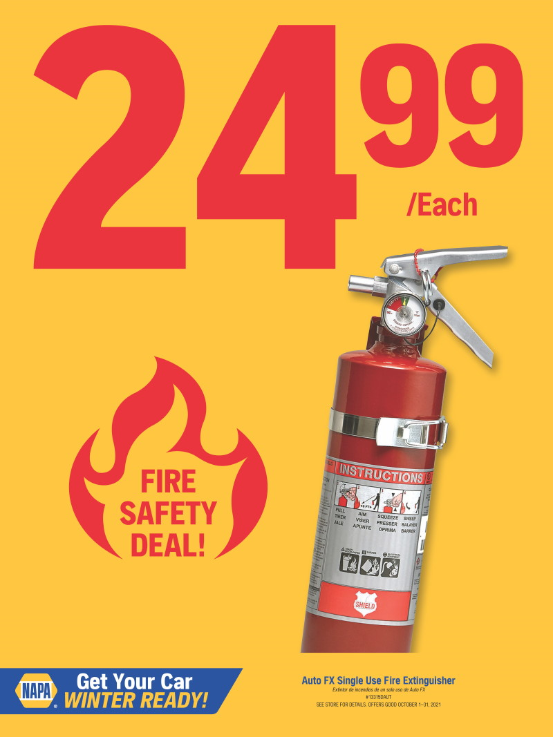WILSONS NAPA - fire extinguisher