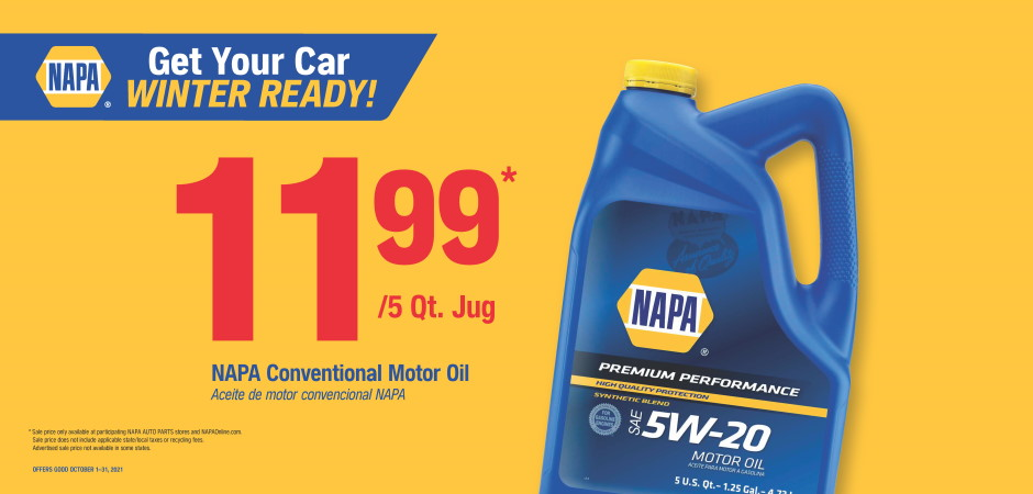Wilsons NAPA Auto Parts - NAPA OIL