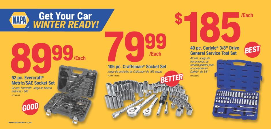Wilsons NAPA Auto Parts - tools