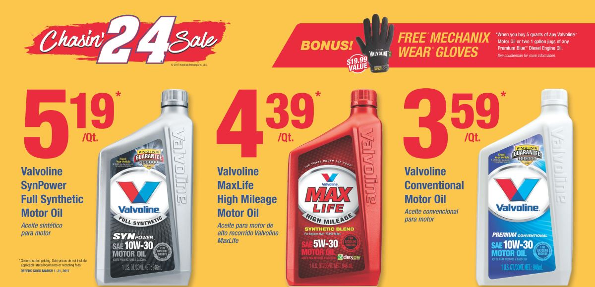 Wilsons Napa Auto Parts - Oil