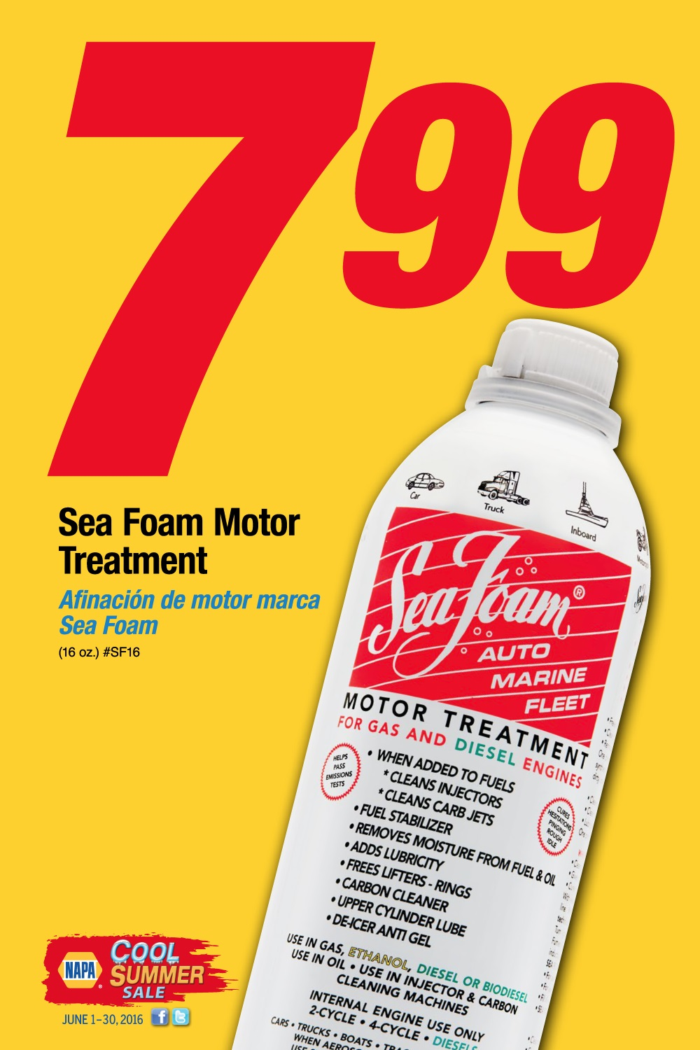 Wilsons Napa Auto Parts - Sea Foam
