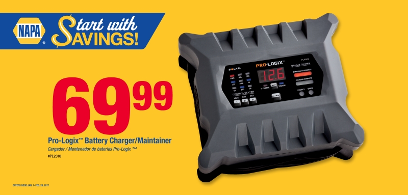 Wilsons Napa Auto Parts - Charger