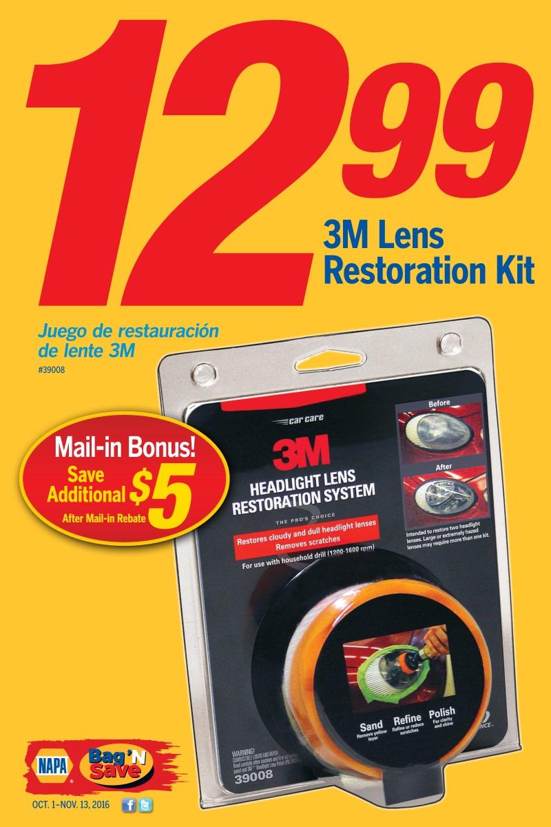 Wilsons Napa Auto Parts - Lens-Restorer