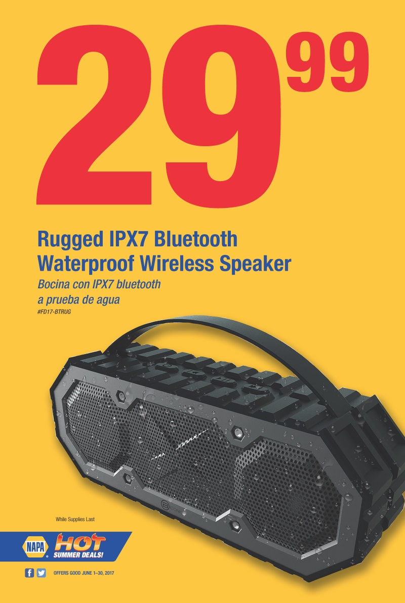 Wilsons Napa Auto Parts - Bluetooth Speaker