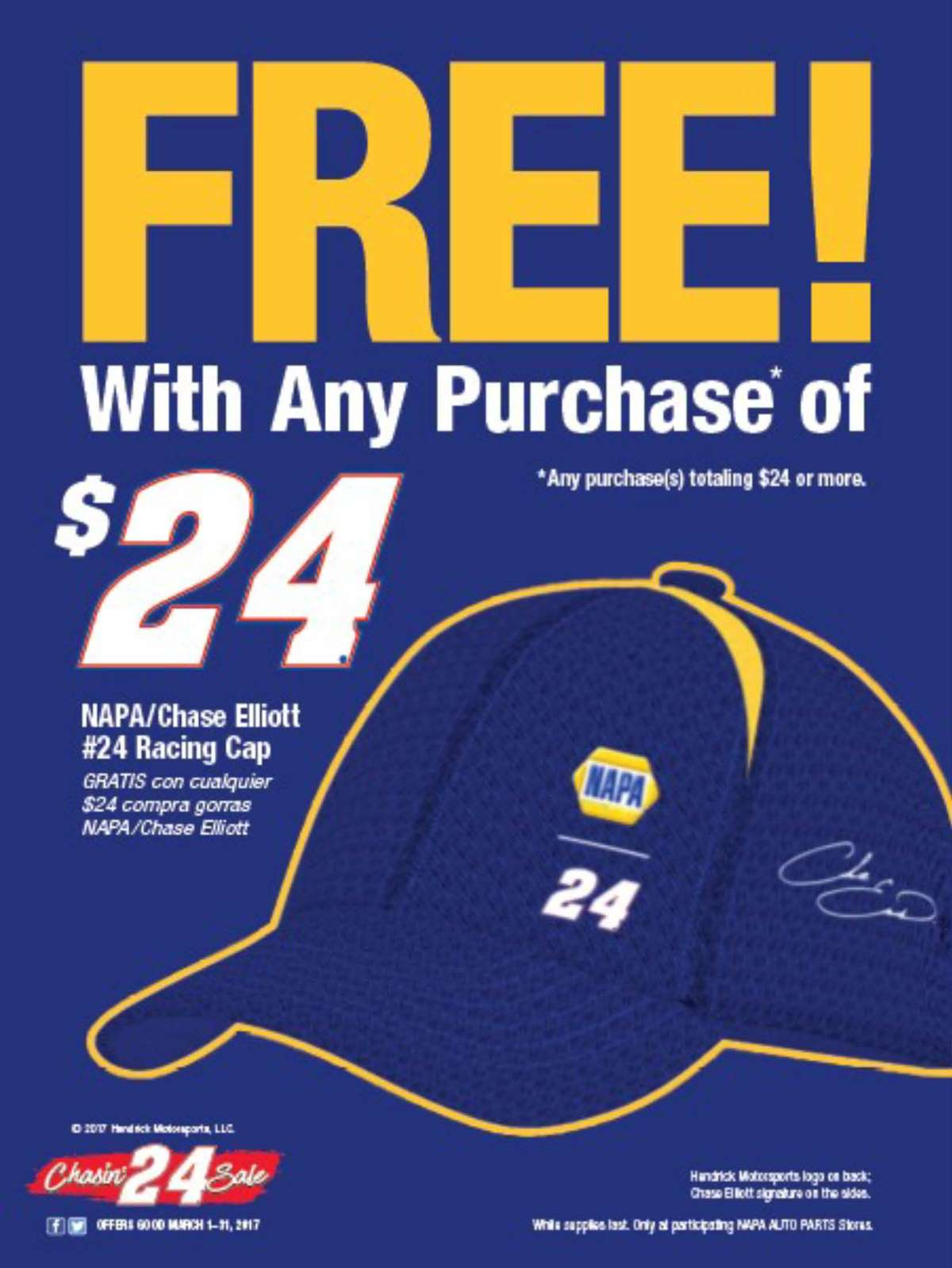 Wilsons Napa Auto Parts - Caps